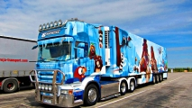 Ice Age Truck Graffiti