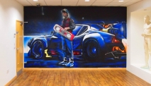Back To The Future Graffiti Street Art