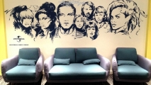 Universal Music Group Graffiti Art Mural