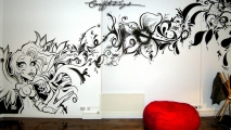 Fairy Magic Graffiti Art Mural