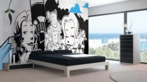Bedroom Graffiti Art Mural