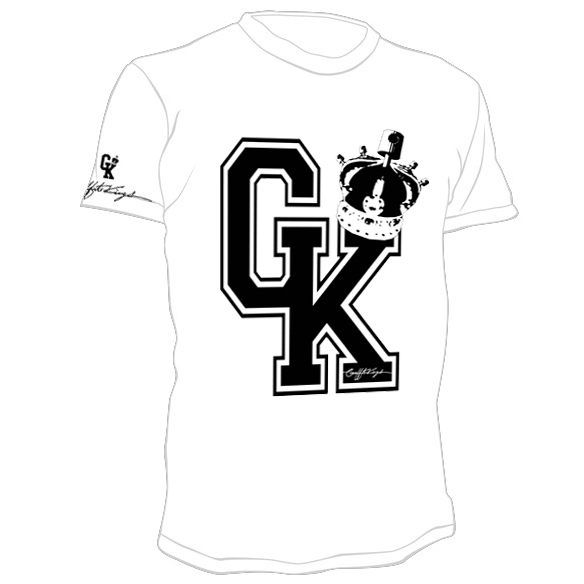 BUY our NEW Signature GK Tshirts with FREE SHIPPING worldwide.