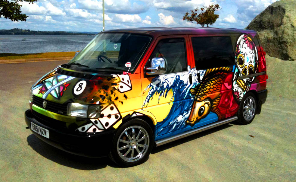 Graffiti Kings Van