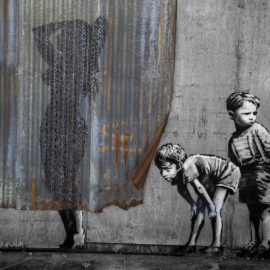History of Banksy Graffiti Art (Infographic)