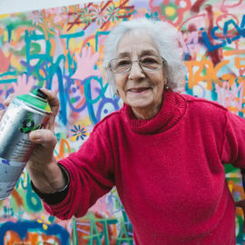 Senior Citizens Learn Graffiti in Workshop That Banishes Ageist Stereotypes