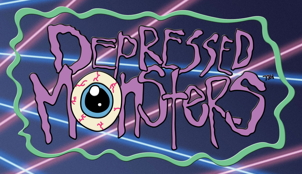 Depressed Monsters: Fighting Mental Illness With Street Art