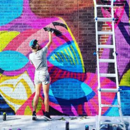 Street Art: 9 Female Artists Who Are KILLIN' It