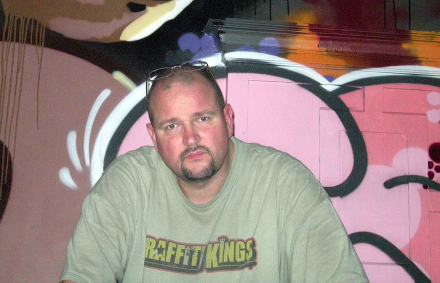 Darren Cullen Graffiti Artist & Street Artist SER from Graffiti Kings Copyrighted Free Use image