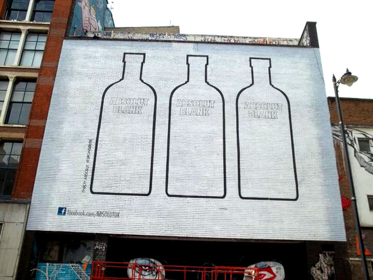 Absolut Blank Street Art Graffiti Kings
