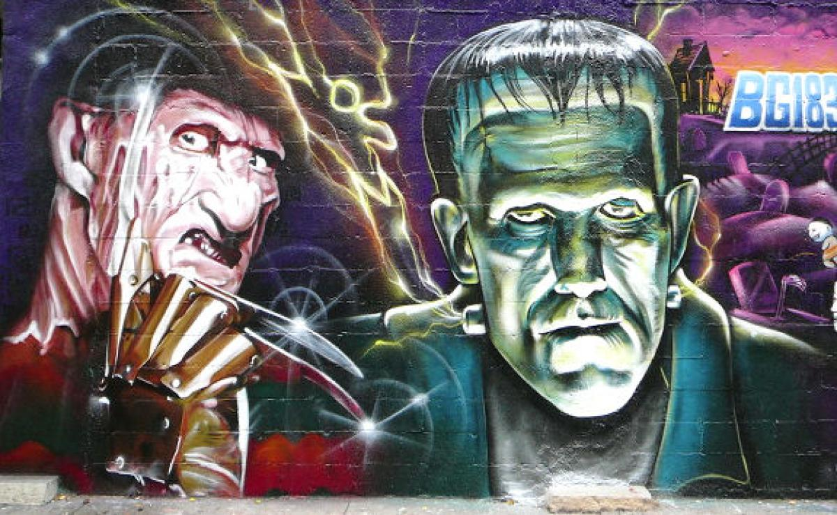 HORROR GRAFFITI AND STREET ART (11)