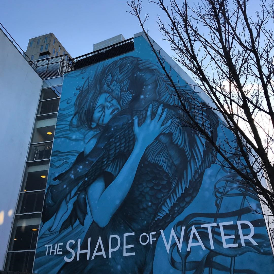 Shape Of Water Graffiti