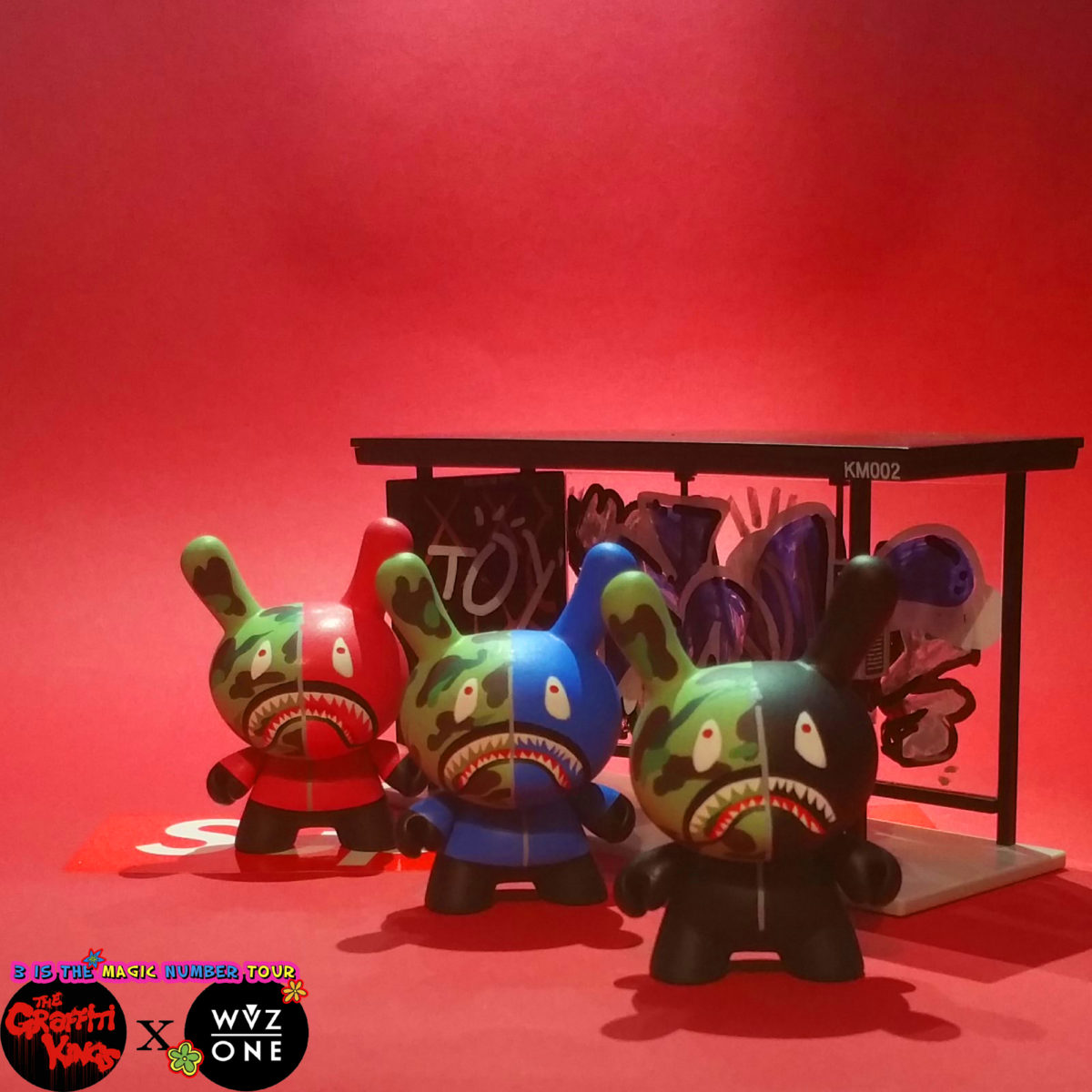 Graffiti Kings Hypebeast Dunny Ape WuzOne Bathing Ape (4)