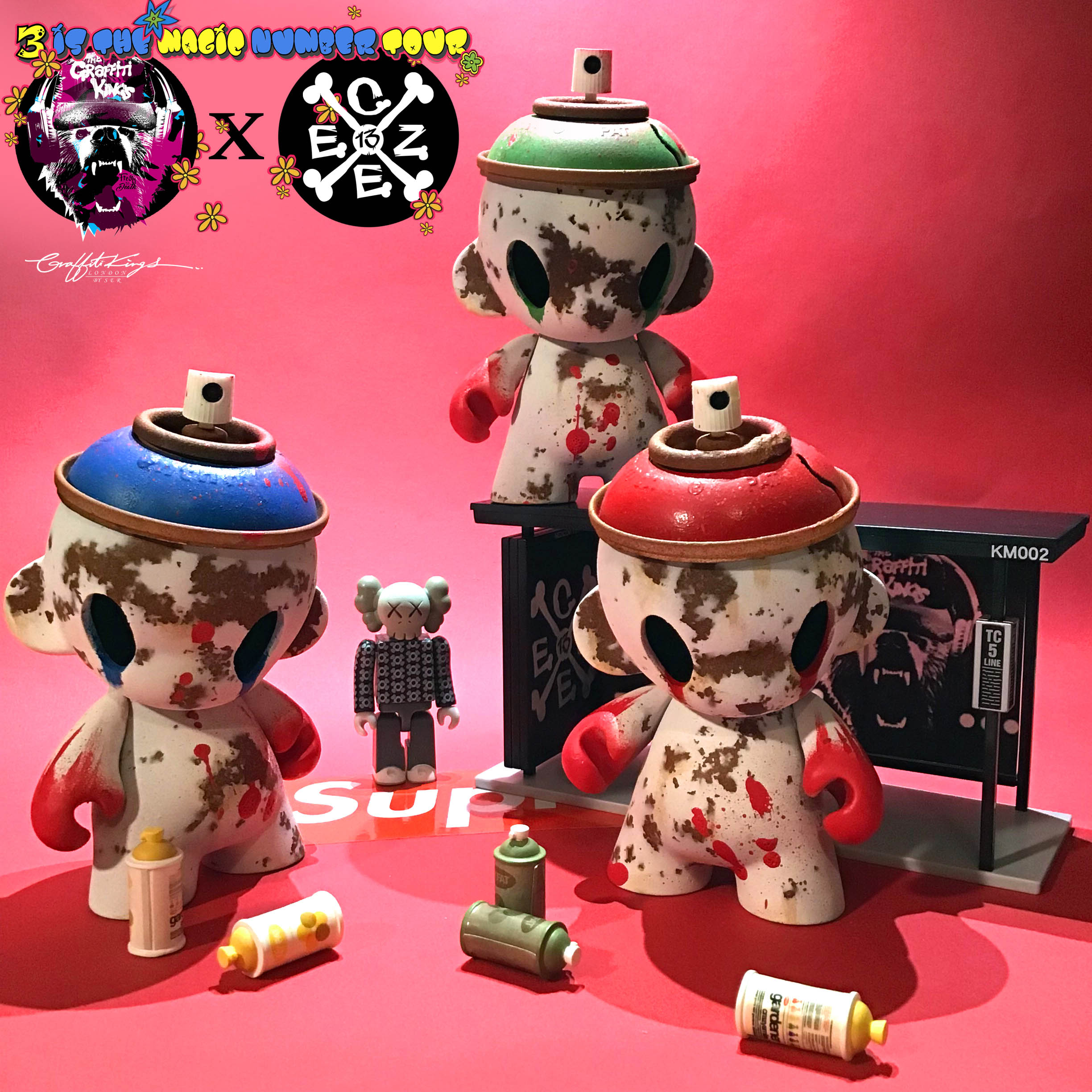 Graffiti Kings x czee13 custom designer toy 4