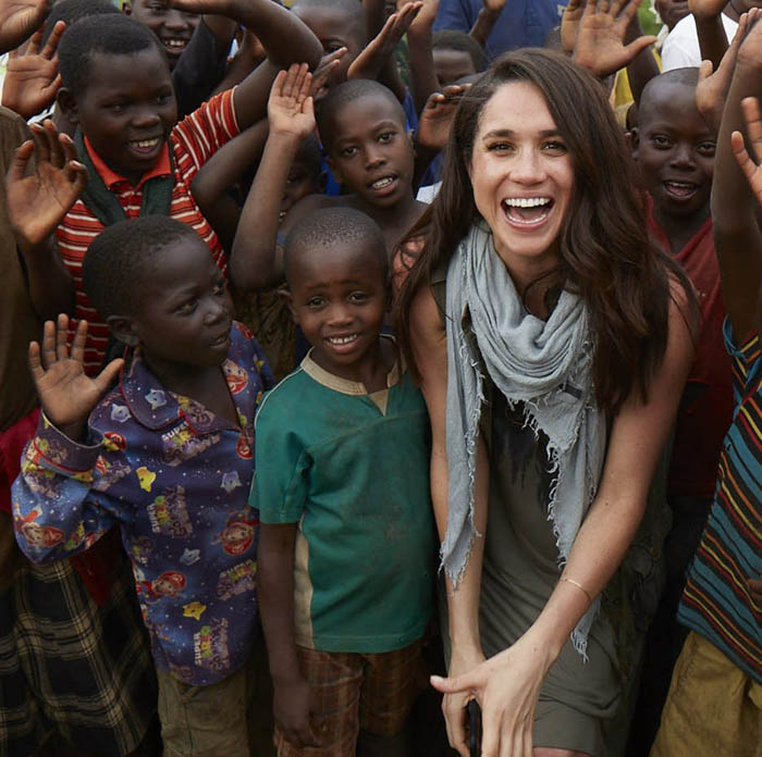 Megan Markle World Vision Graffiti Kings 1