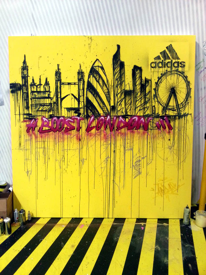Adidas Graffiti London Marathon (3)