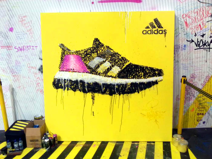 Adidas Graffiti London Marathon
