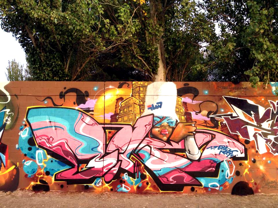 Graffiti Kings Artist Dave Bonzai