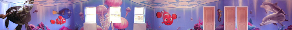 Finding Nemo Graffiti Bedroom