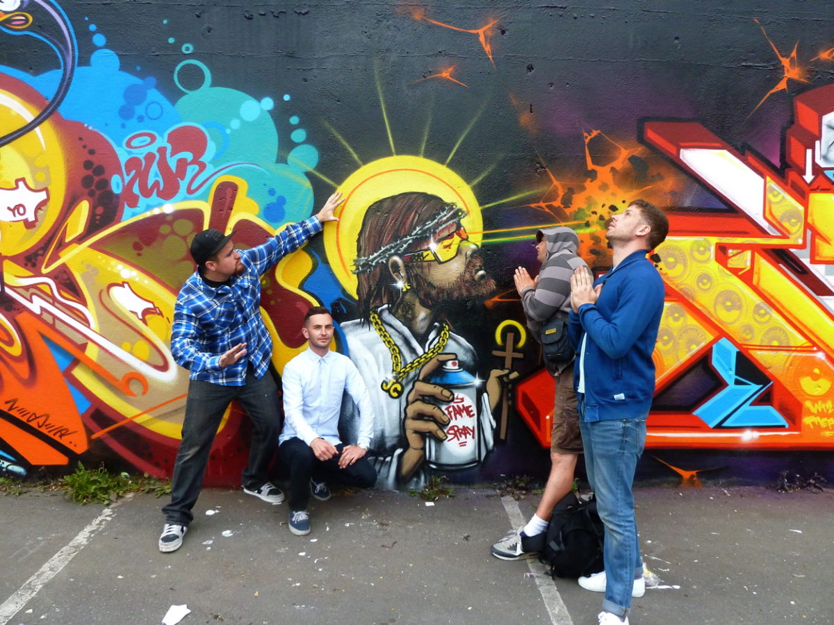 Graffiti Kings Artist Aroe MSK HA