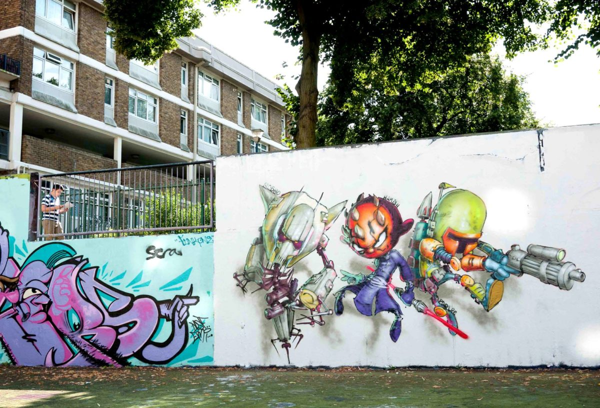 Graffiti Kings Artist Parlee