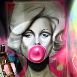 INK NIGHTCLUB NOTTINGHAM GRAFFITI MURALS