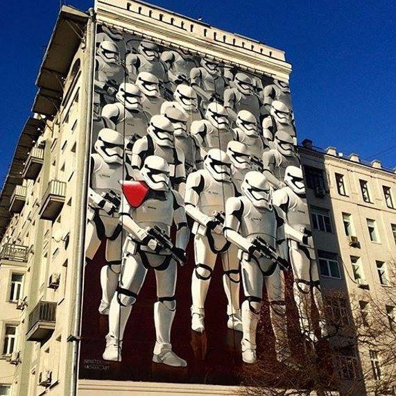 Star Wars Graffiti Street Art