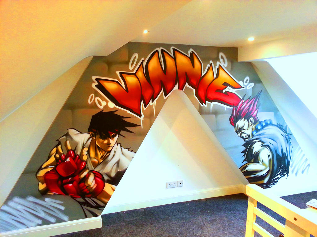 Street Fighter Graffiti