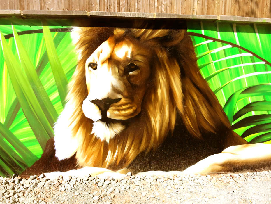 graffiti-lion