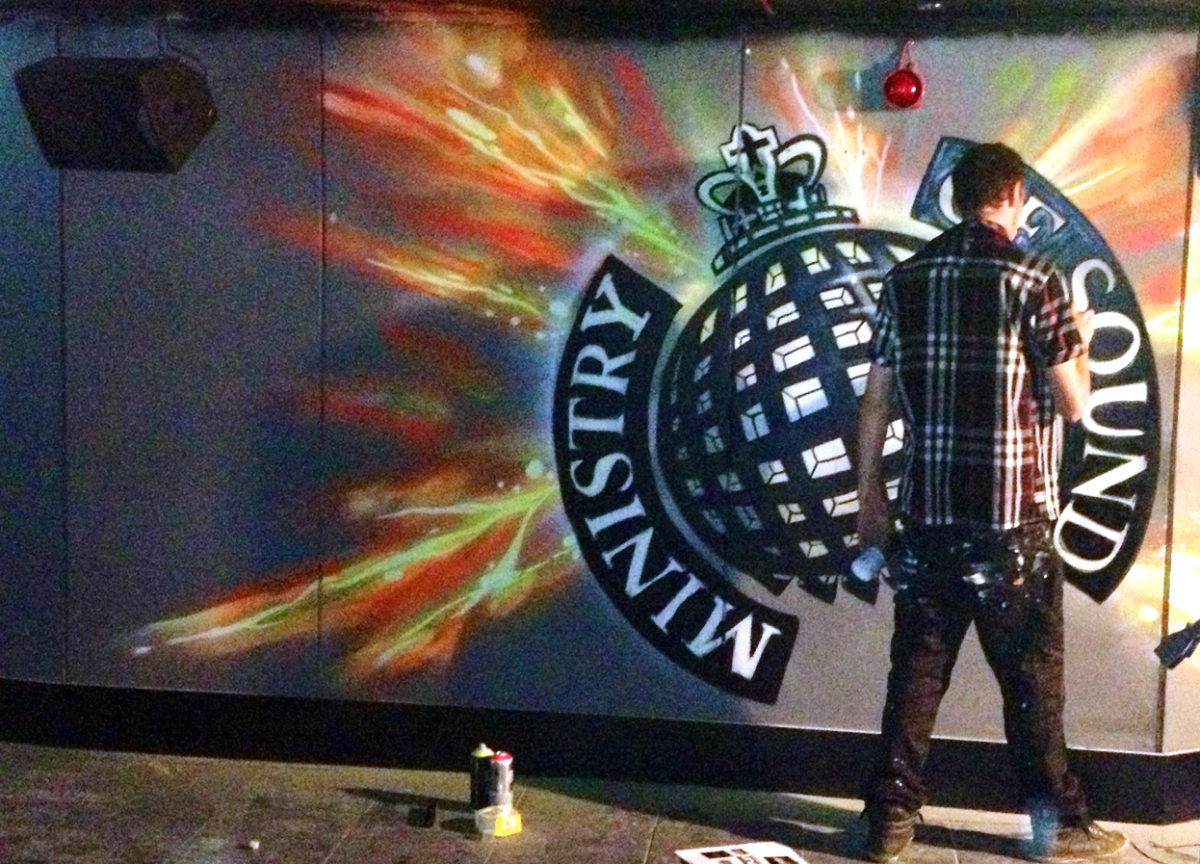 Ministry Of Sound call the Graffiti Kings to pimp their new 1991 room