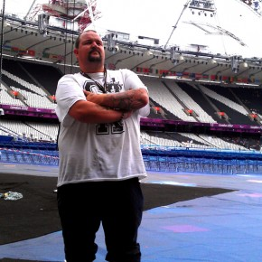 Official Graffiti Artist for the London2012 Paralympic Games, Graffiti Artist Darren Cullen