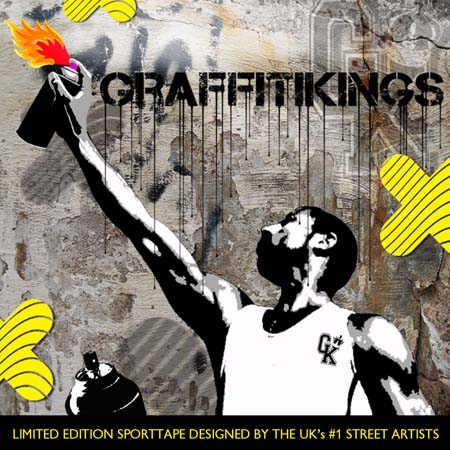 SPORTTAPE gets down with GRAFFITI KINGS
