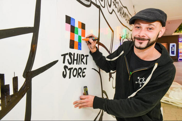 The T Shirt Store vs Graffiti Kings