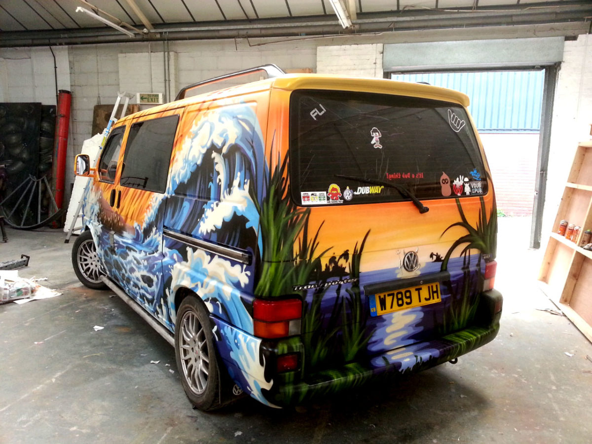 Get A Custom Paint Job By Graffiti Kings London