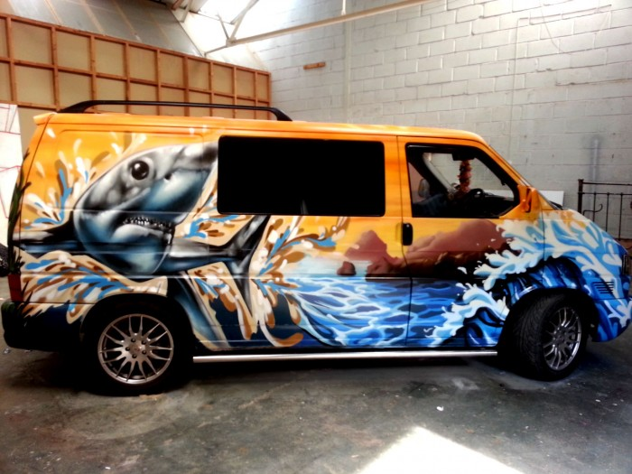 Graffiti Kings T4 Camper